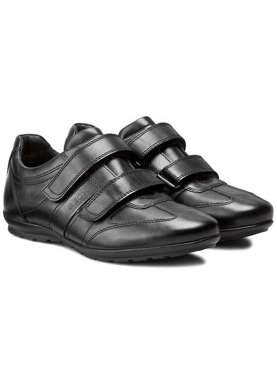 Geox Geox Κλειστά παπούτσια U Symbol D U32A5D 00043 C9999 Μαύρο