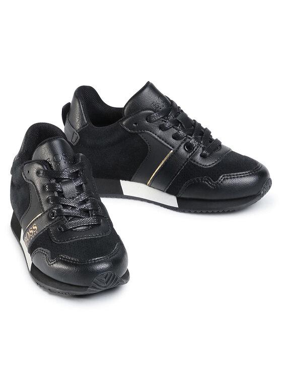 Boss Boss Sneakersy J29225 S Czarny