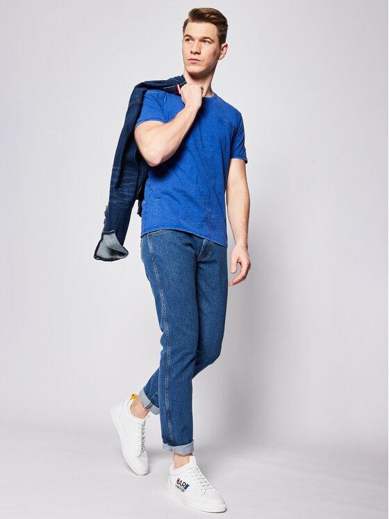 Guess Guess Póló Pocket Tee M0GI54 K6XN0 Kék Slim Fit