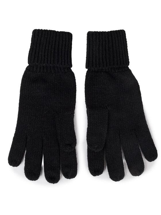 Guess Guess Mănuși pentru Bărbați NOT COORDINATED GLOVES AM8586 WOL02 Negru