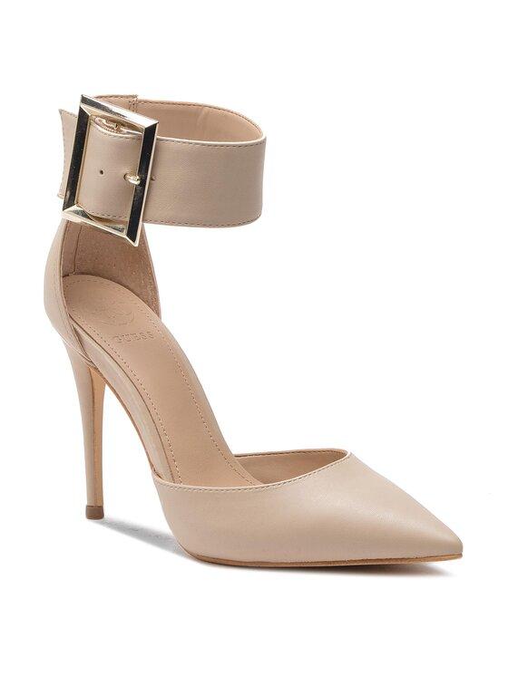 Guess Guess Обувки на ток FL5OVE LEA08 Бежов