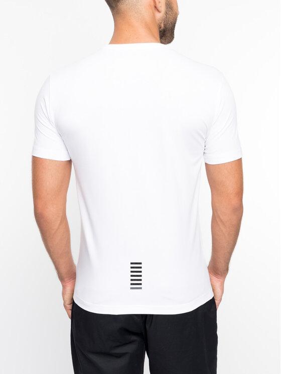 EA7 Emporio Armani EA7 Emporio Armani T-Shirt 3GPT52 PJM5Z 1100 Λευκό Regular Fit