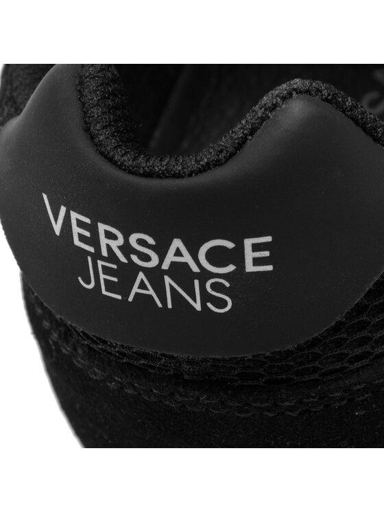 Versace Jeans Versace Jeans Laisvalaikio batai E0VTBSA1 Juoda