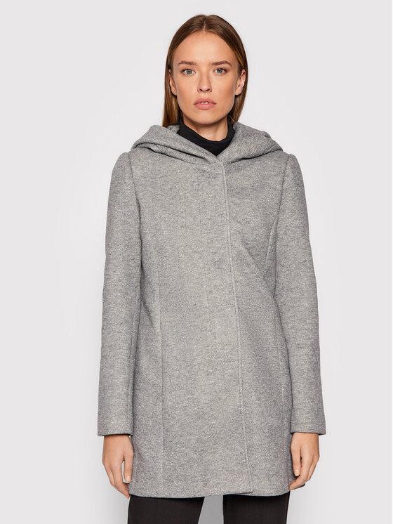Vero Moda Vero Moda Płaszcz przejściowy Dona 10202688 Szary Regular Fit