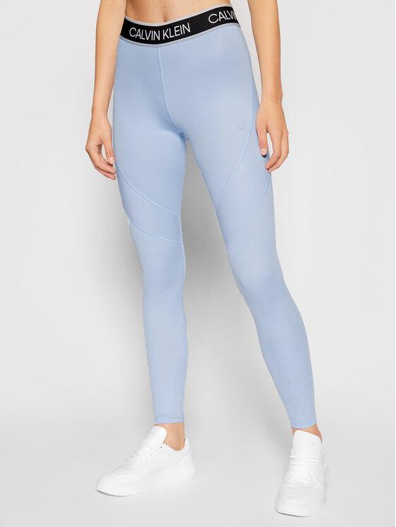 Calvin Klein Performance Leginsai 00GWT1L663 Mėlyna Slim Fit