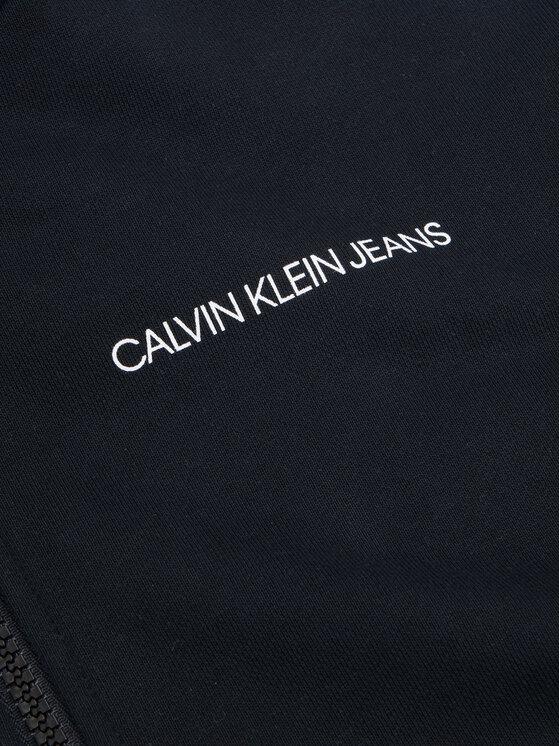 Calvin Klein Jeans Calvin Klein Jeans Bluza Foil Block Raglan IG0IG00435 Czarny Regular Fit