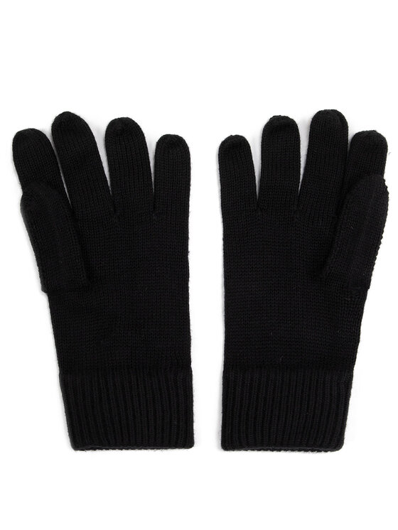 TOMMY HILFIGER TOMMY HILFIGER Set mănuși și căciulă Pima Cotton Beanie & Gloves Gp AM0AM05435 Negru