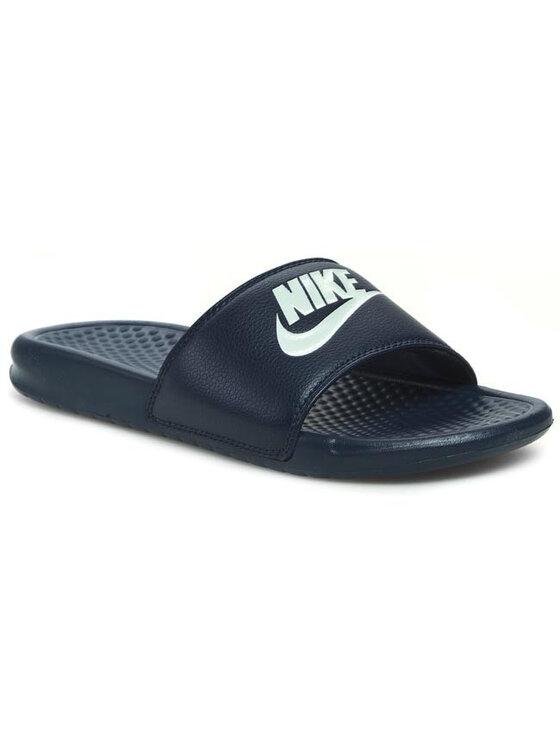Nike Nike Παντόφλες Benassi JDI 343880 403 Σκούρο μπλε