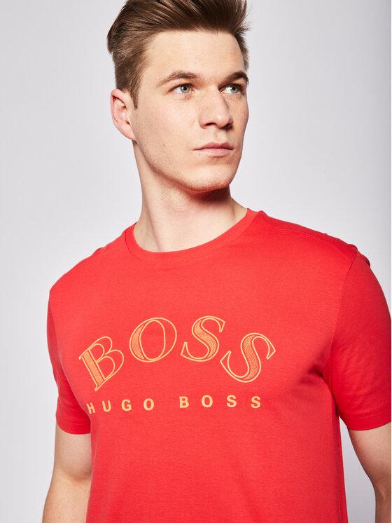 Boss Boss Тишърт Tee 1 50424014 Червен Regular Fit