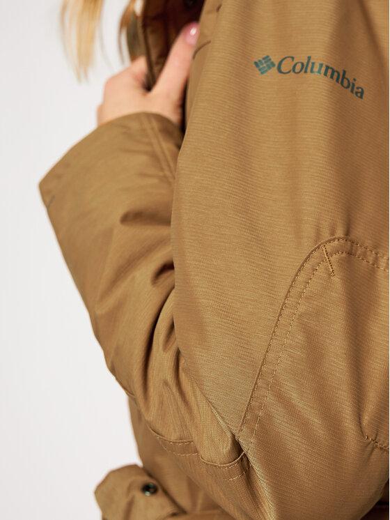 Columbia Columbia Kurtka zimowa Carson Pass™ II 1515501 Brązowy Regular Fit