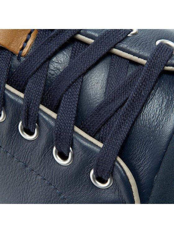 Clarks Clarks Sneakersy Ballof Walk 261125897 Niebieski