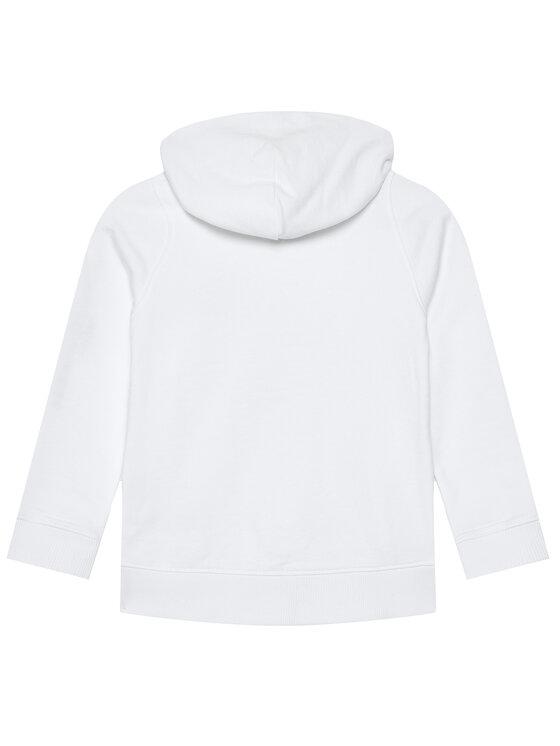 Tommy Hilfiger Tommy Hilfiger Bluza Essential Hooded Zip Through KB0KB06341 M Biały Regular Fit