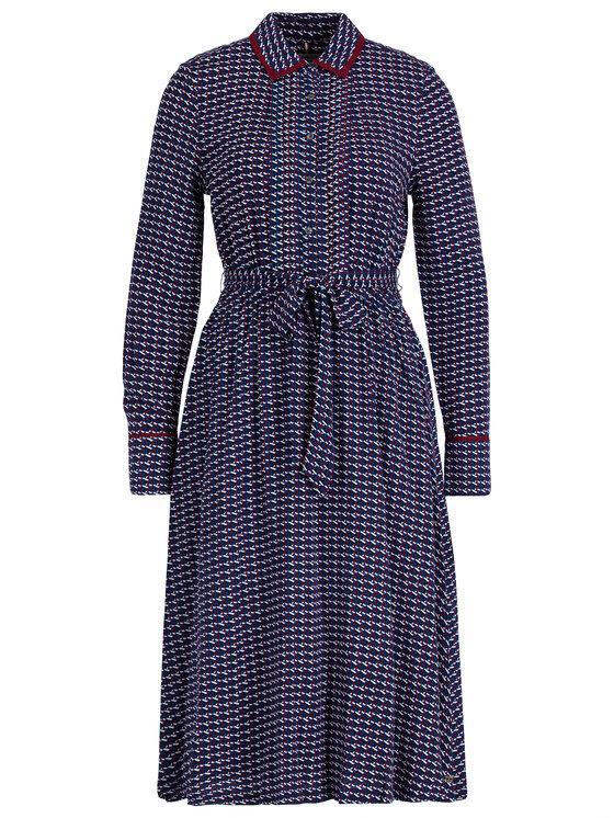 Tommy Hilfiger Tommy Hilfiger Φόρεμα πουκάμισο Angie WW0WW26001 Σκούρο μπλε Regular Fit