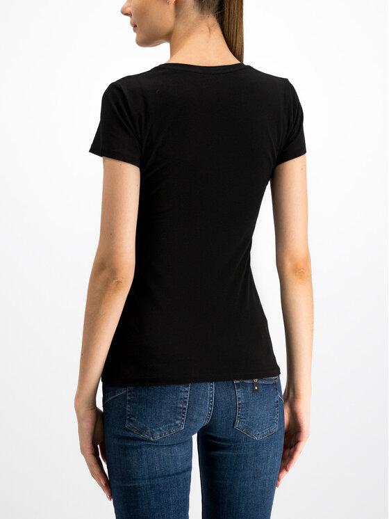 Liu Jo Liu Jo T-Shirt W69260 J5003 Černá Regular Fit