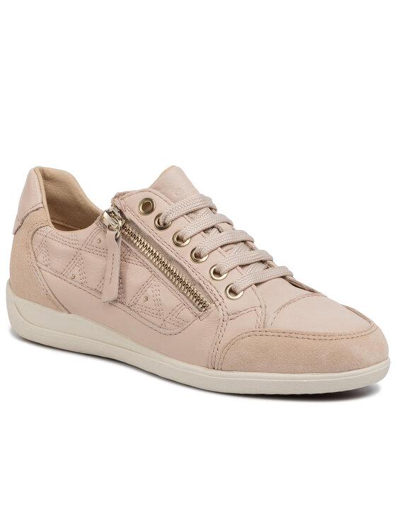 Geox Geox Sneakersy D Myria C D0268C 08522 C8389 Beżowy