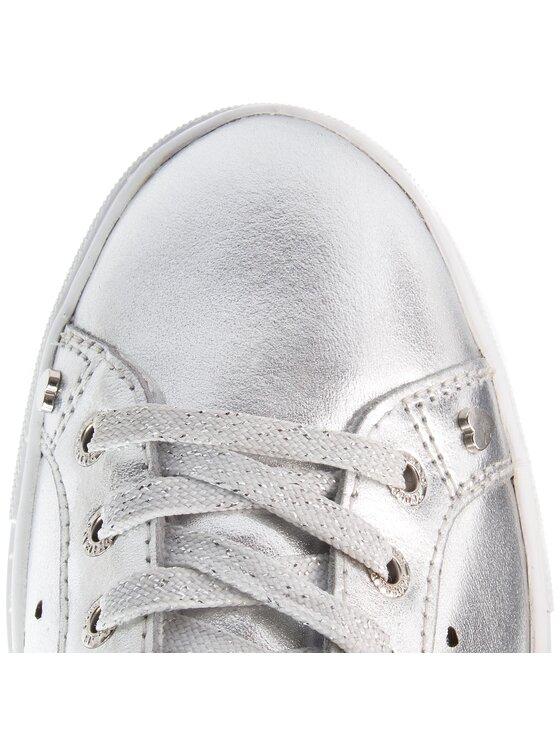 Trussardi Jeans Trussardi Jeans Sneakersy 79A00232 Srebrny