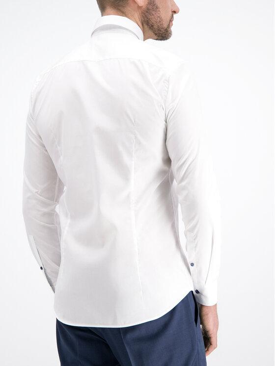 JOOP! Joop! Πουκάμισο 30014749 Λευκό Slim Fit