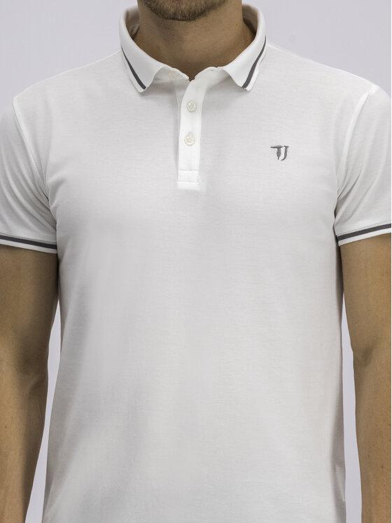 Trussardi Trussardi Polo 52T00298 Biały Regular Fit