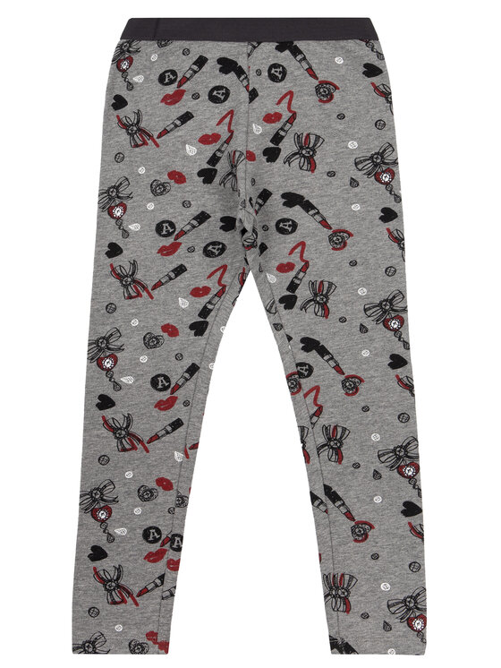 Primigi Primigi Legginsy Fashion Academy 44122541 Szary Slim Fit