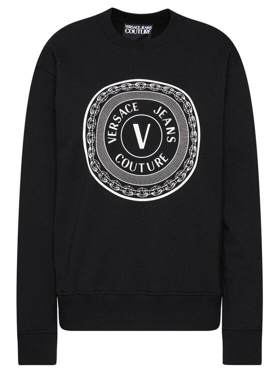 Versace Jeans Couture Versace Jeans Couture Pulóver B7GWA7TT Fekete Regular Fit