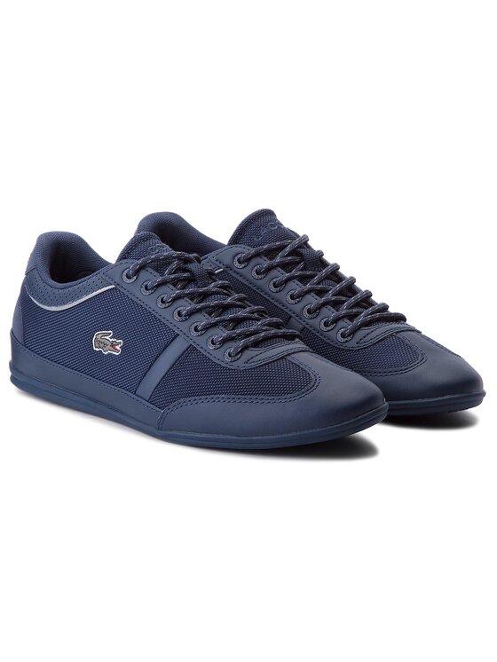 Lacoste Lacoste Sneakersy Misano Sport 218 1 Cam 7-35CAM008495K Tmavomodrá
