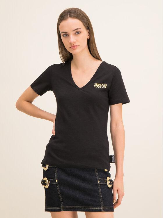 Versace Jeans Couture Versace Jeans Couture T-shirt B2HUA7IT Nero Slim Fit