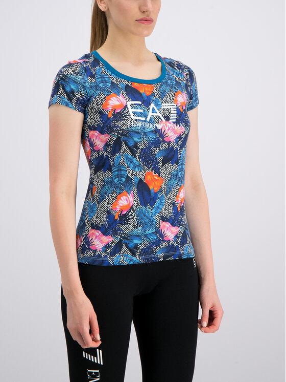 EA7 Emporio Armani EA7 Emporio Armani T-Shirt 3GTT24 TJ12Z 2554 Blau Slim Fit