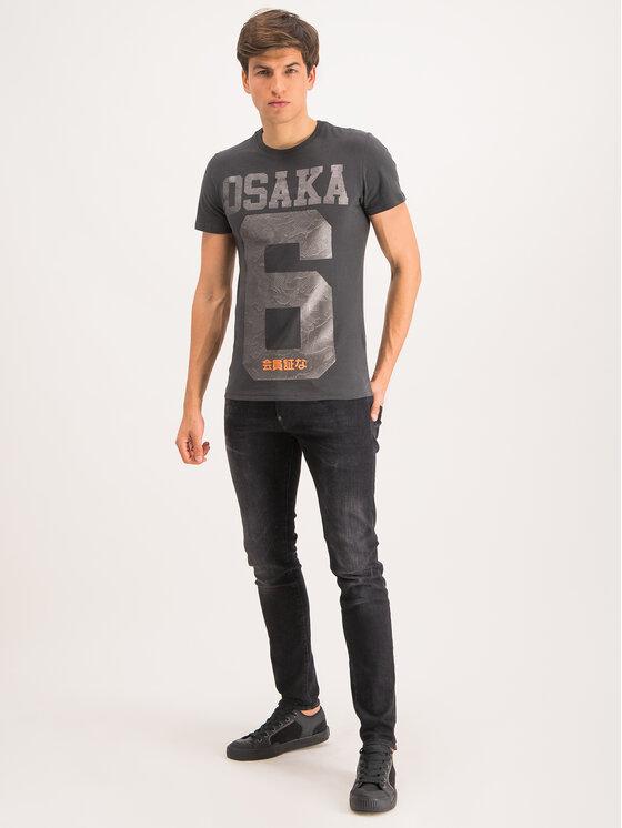 Superdry Superdry T-Shirt M1000064B Μαύρο Regular Fit
