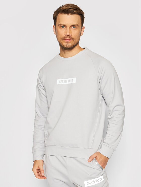 Calvin Klein Performance Džemperis Pw 00GMS1W360 Pilka Regular Fit