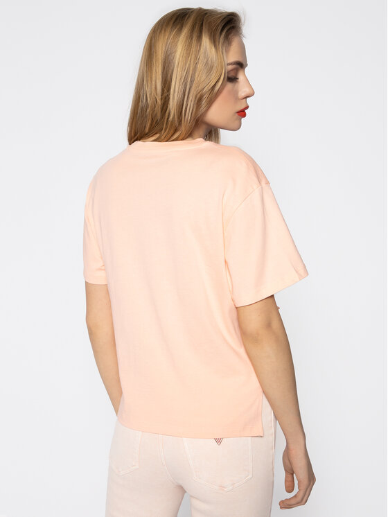 Guess Guess T-shirt Beverly Tee W0GI30 K8HM0 Rosa Regular Fit