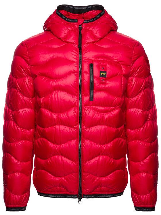 Blauer Blauer Vatovaná bunda Booth Wave Down 19WBLUC03056 004719 Červená Slim Fit