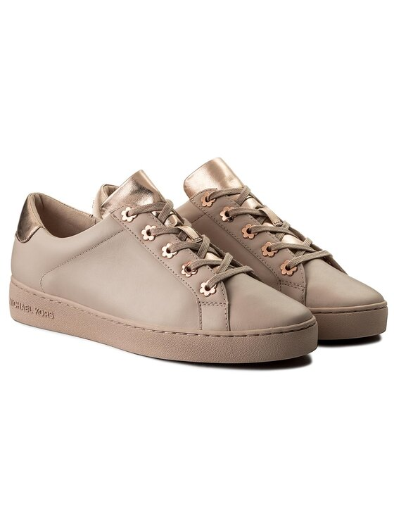MICHAEL Michael Kors MICHAEL Michael Kors Sneakersy Irving Lace Up 43S8IRFS5L Różowy