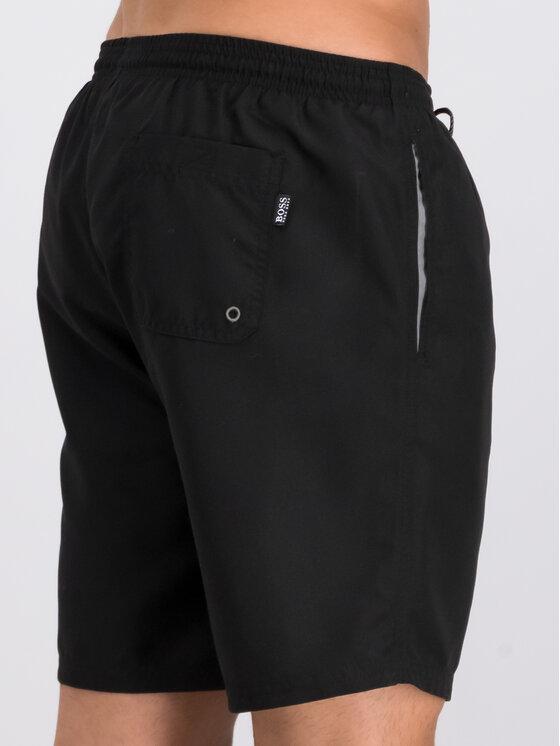 Boss Boss Plavecké šortky 50291913 Černá Regular Fit