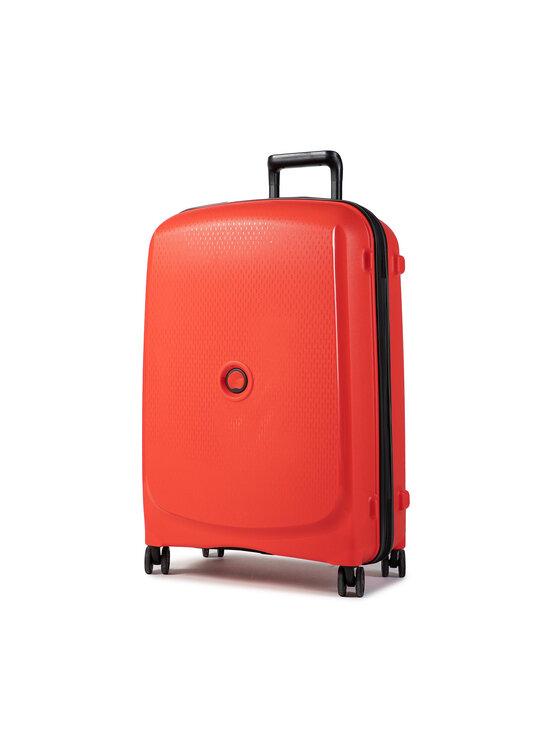 Delsey Vidutinio Dydžio Kietas Lagaminas Belmont Plus 00386181634 Raudona