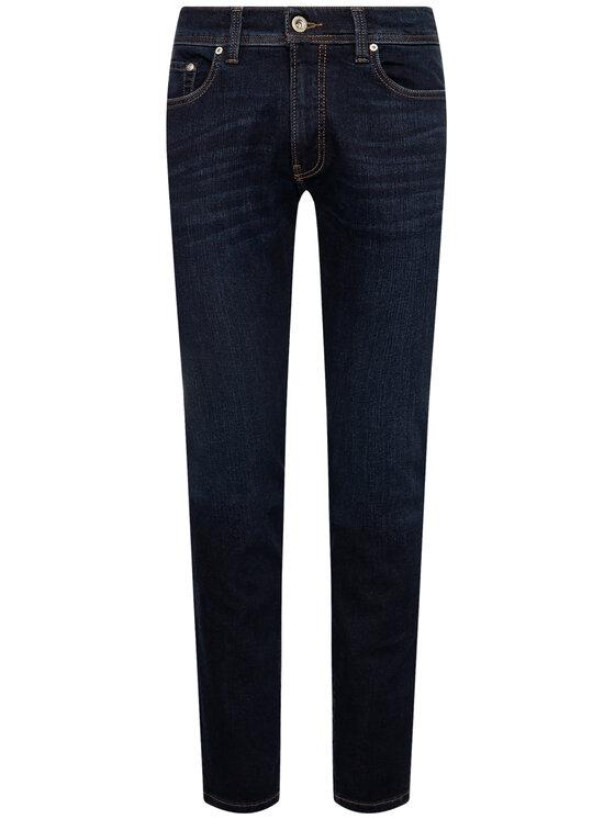 Pierre Cardin Pierre Cardin Prigludę (Slim Fit) džinsai 3451 Tamsiai mėlyna Lyon Tapered