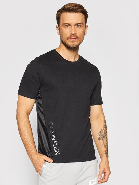 Calvin Klein Performance Marškinėliai 00GMT1K159 Juoda Regular Fit