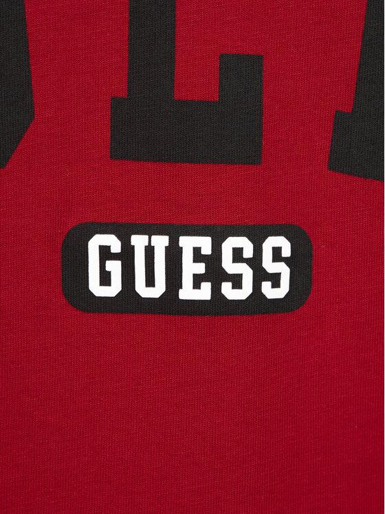 Guess Guess Tricou M92I36 I3Z00 Roșu Regular Fit