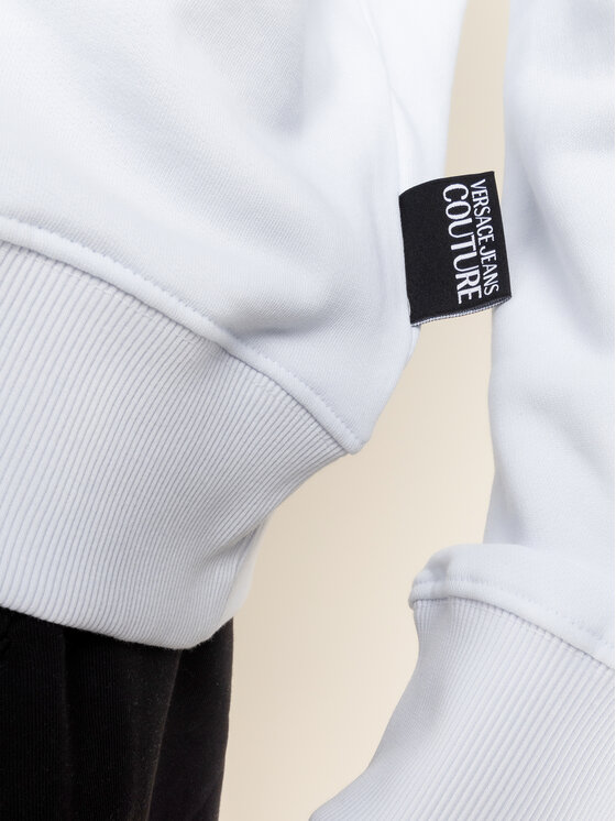 Versace Jeans Couture Versace Jeans Couture Sweatshirt B7GVA7TK Weiß Regular Fit