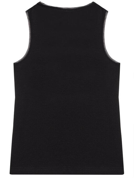 DKNY DKNY Top D35R21 S Czarny Regular Fit