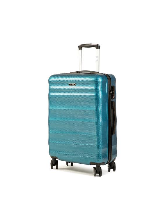 Ochnik Vidutinio Dydžio Kietas Lagaminas WALPC-0006-24 Mėlyna