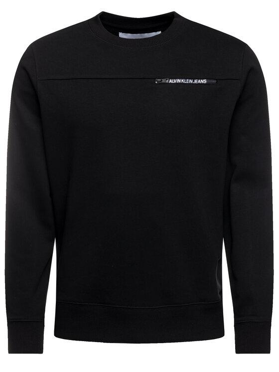 Calvin Klein Jeans Calvin Klein Jeans Džemperis J30J313678 Juoda Regular Fit