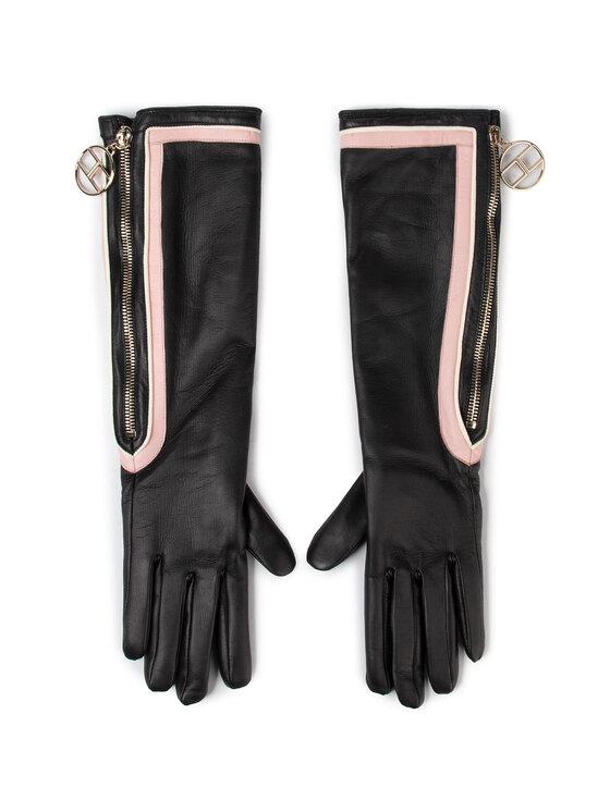 Elisabetta Franchi Elisabetta Franchi Дамски ръкавици GU-02R-97E2-V239 Черен