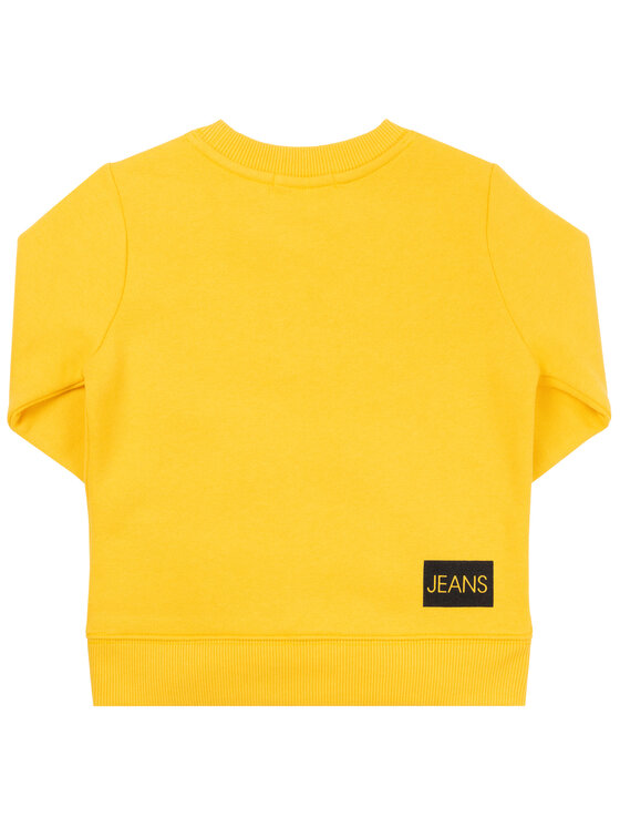 Calvin Klein Jeans Calvin Klein Jeans Džemperis Institutional IU0IU00040 Geltona Regular Fit