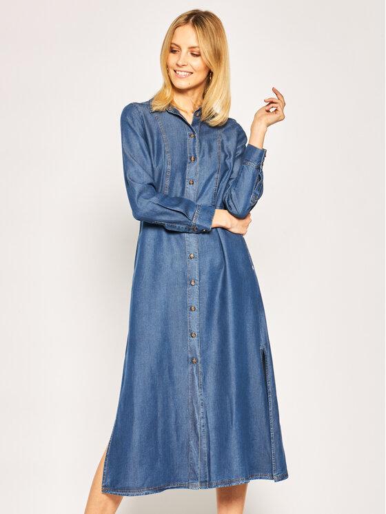 Pennyblack Marškinių tipo suknelė Macianno 32210120 Tamsiai mėlyna Regular Fit