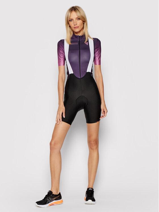 Quest Quest Koszulka rowerowa Essential Fioletowy Comfort Fit