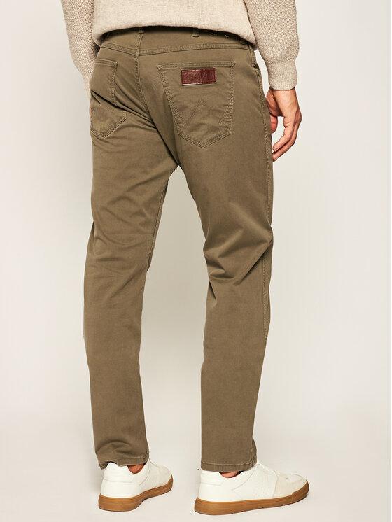Wrangler Wrangler Παντελόνι υφασμάτινο Grrensboro W15QWA275 Πράσινο Regular Fit