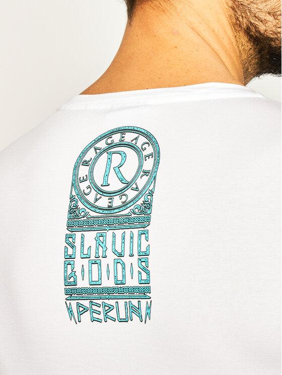 Rage Age Rage Age T-Shirt Perun Weiß Slim Fit