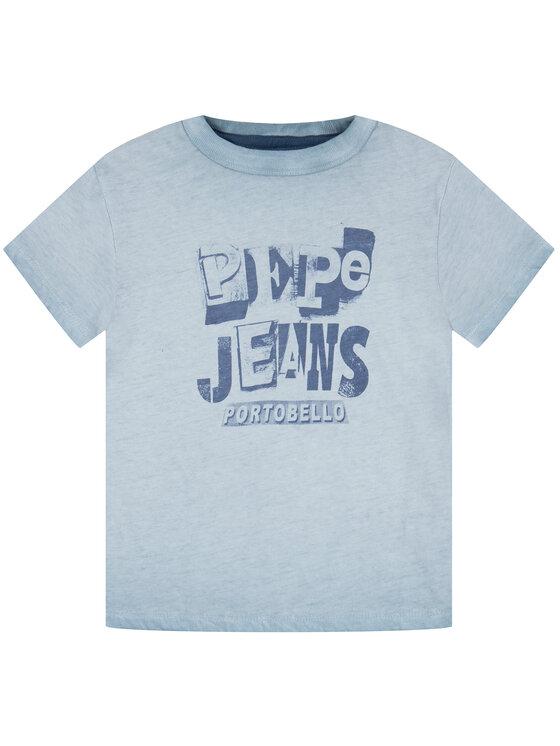 Pepe Jeans Pepe Jeans T-Shirt Taylor PB502716 Niebieski Regular Fit