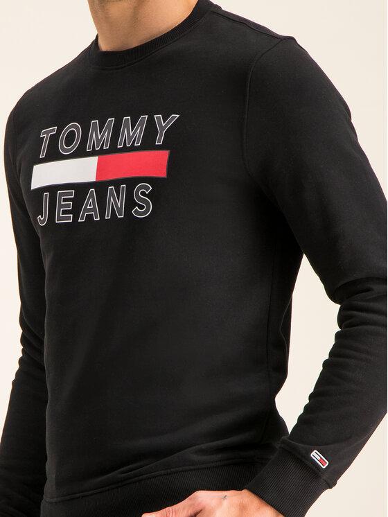 Tommy Jeans Tommy Jeans Felpa Tjm Essential Graphic Crew DM0DM07413 Nero Regular Fit