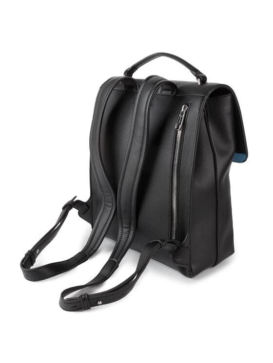 Calvin Klein Jeans Calvin Klein Jeans Plecak Sculpted Monogram Flap Backpack K60K605538 Czarny